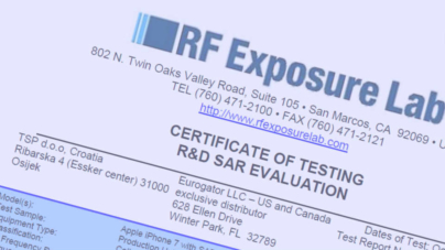 US Certification for proven and effective protection from harmful EMF