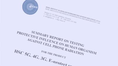 BION Laboratories – Test Report Summary