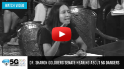Dr. Sharon Goldber – Veteran MD Drops Bombshell At 5G Hearing